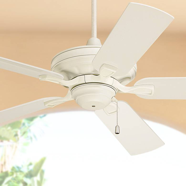 "52"" Emerson Carrera Veranda Summer White Ceiling Fan"