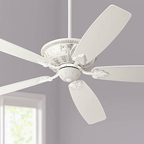 "60"" Casa Montego™ Rubbed-White Ceiling Fan"