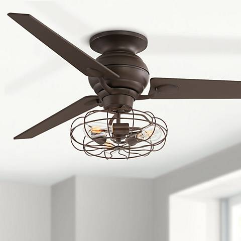 "60"" Spyder Oil-Rubbed Bronze Ceiling Fan LED Light Kit"