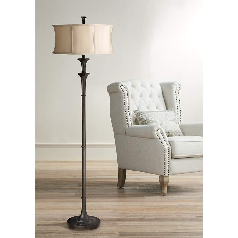 Uttermost Brazoria Oil Rubbed Bronze Floor Lamp