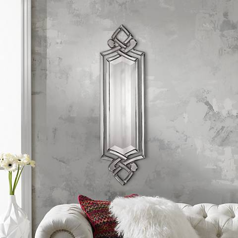 "Uttermost 10"" x 36"" Ginosa Wall Mirror"
