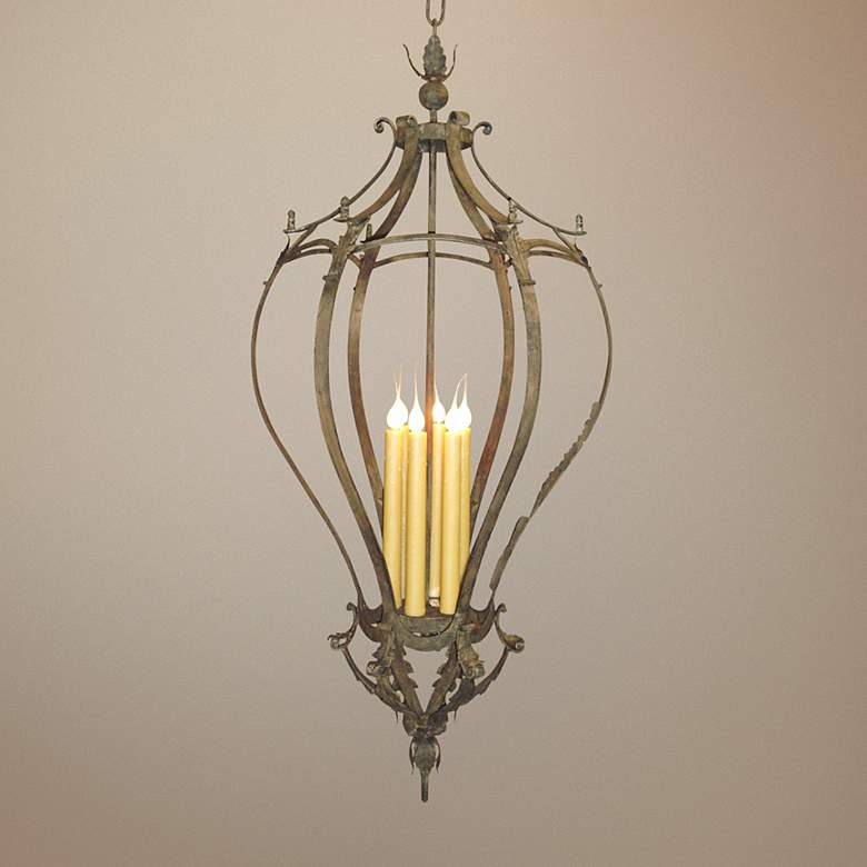 "Laura Lee Alexis 6-Light 24"" Wide Tall Foyer"