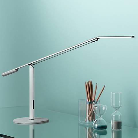 Gen 3 equo daylight led desk lamp silver with touch dimmer r5795 gen 3 equo daylight led desk lamp silver with touch dimmer aloadofball