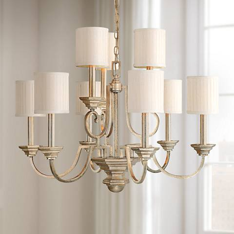 "Fifth Avenue Collection 9-Light 32"" Wide Chandelier"