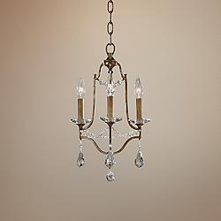 "Feiss Valentina 12 1/2"" Wide Oxidized Bronze Chandelier"