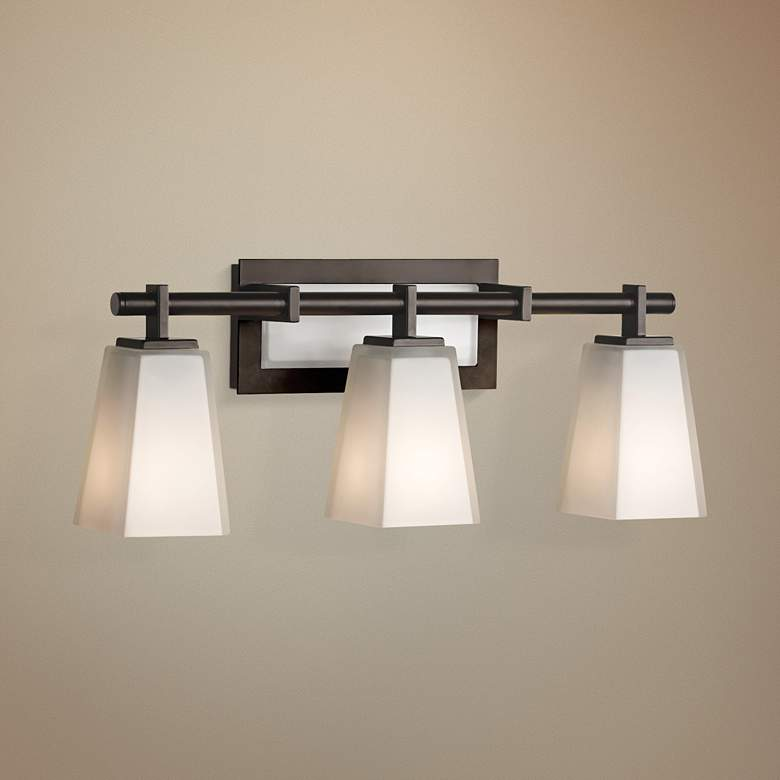 "Feiss Clayton 22 1/4"" Wide Bathroom Light Fixture"