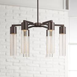 "George Kovacs Light Rain Collection 24"" Wide Chandelier"