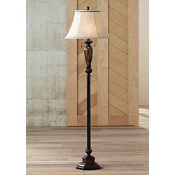 "Kathy Ireland Sonnett 63 1/2"" High Twin Pull Floor Lamp"