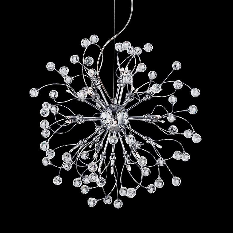 Possini Euro Crystal Fizz 24-Light Contemporary Pendant