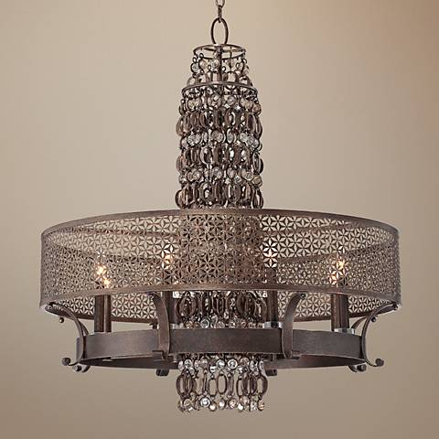 "Metropolitan Ajourer Collection 32"" Wide Chandelier"