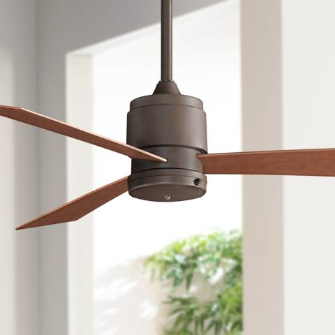 54 Quot Fanimation Zonix Oil Rubbed Bronze Wet Ceiling Fan