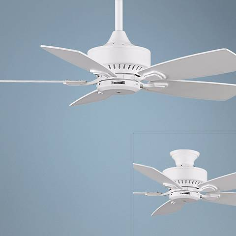 "42"" Fanimation Cancun White Ceiling Fan"
