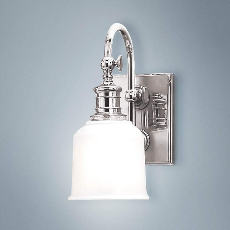 "Hudson Valley Keswick 11"" High Chrome Wall Sconce"