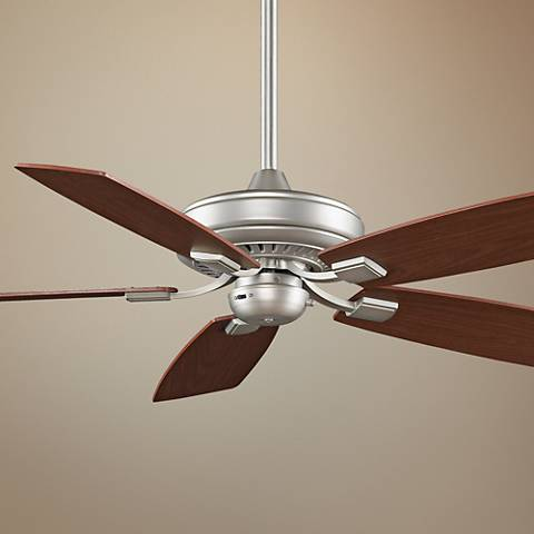 "52"" Fanimation Edgewood™ Satin Nickel  Ceiling Fan"