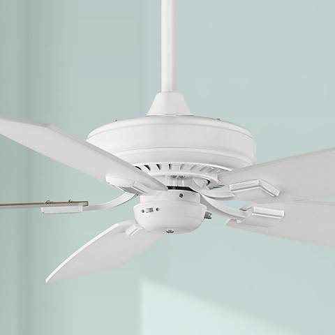 "52"" Fanimation Edgewood™ White Ceiling Fan"