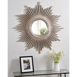 "Sunburst Reflections 36"" x 36"" Wall Mirror"