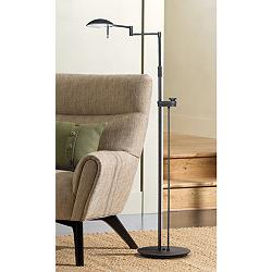 Holtkoetter Bernie Series Bronze Finish LED Floor Lamp