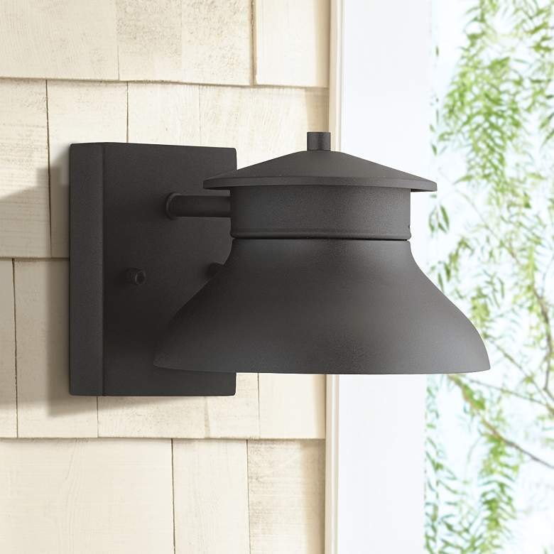 "Danbury 5"" High Black Dark Sky LED Outdoor Wall Light"