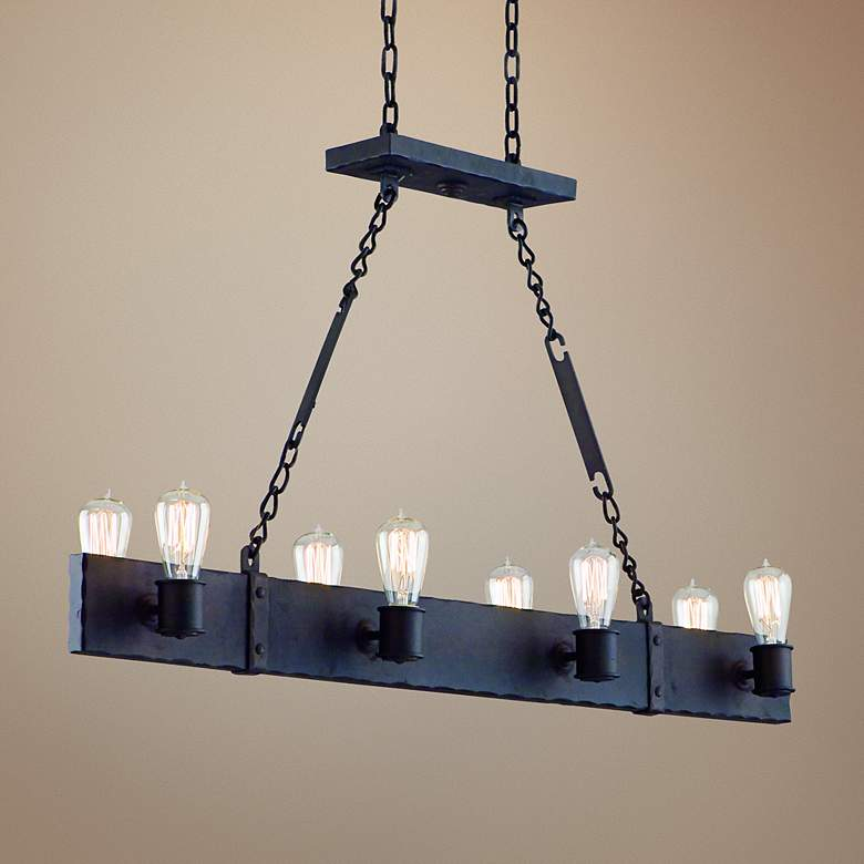 "Jackson 42"" Wide Copper Bronze Pendant Chandelier"