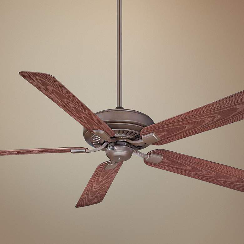 "60"" Fanimation Edgewood Oil-Rubbed Bronze Wet Ceiling Fan"