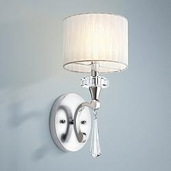 "Kichler Parker Point 15 1/2"" High Chrome Wall Sconce"