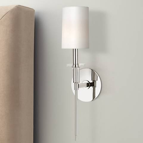 "Hudson Valley Amherst Nickel 18 3/4"" High Wall Sconce"