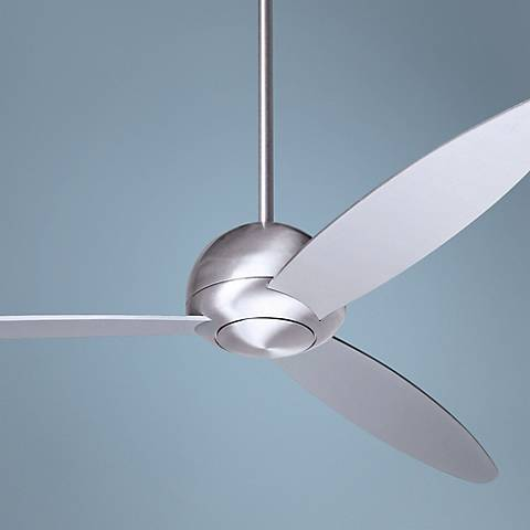 "52"" Modern Fan Company Plum Aluminum Finish Ceiling Fan"