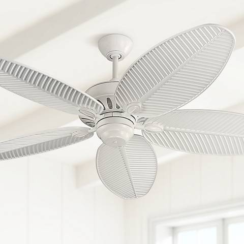 "52"" Monte Carlo Cruise White Wet Ceiling Fan"