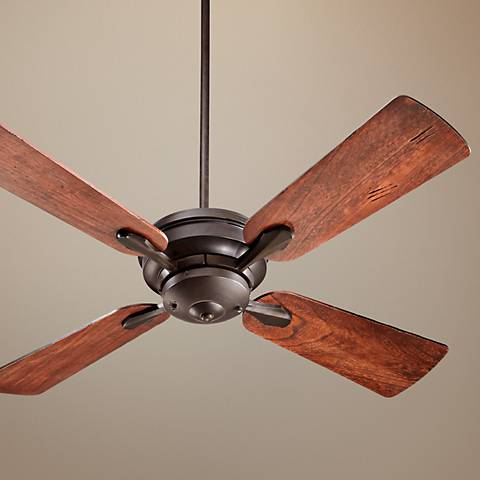"52"" Quorum Valor Olied Bronze Ceiling Fan"