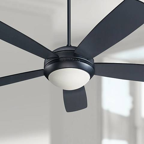 52 monte carlo discus matte black ceiling fan u6335 lamps plus 52 monte carlo discus matte black ceiling fan aloadofball Image collections