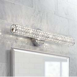 "Possini Euro Divina 27 1/2"" Wide Crystal Vanity Bath Light"