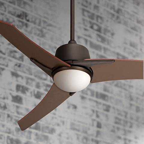 "48"" Casa Vieja Matrix Oil-Rubbed Bronze Ceiling Fan"