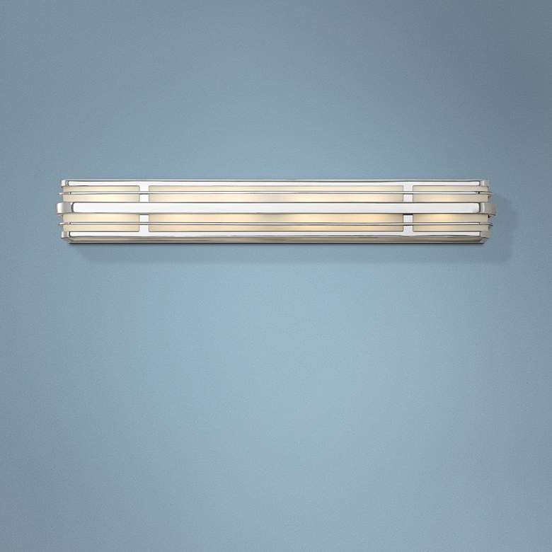 "Hinkley Winton 6-Light 37 1/4"" Wide Chrome Vanity Light"