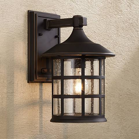 "Hinkley Freeport Bronze 12 1/4"" High Outdoor Wall Light"