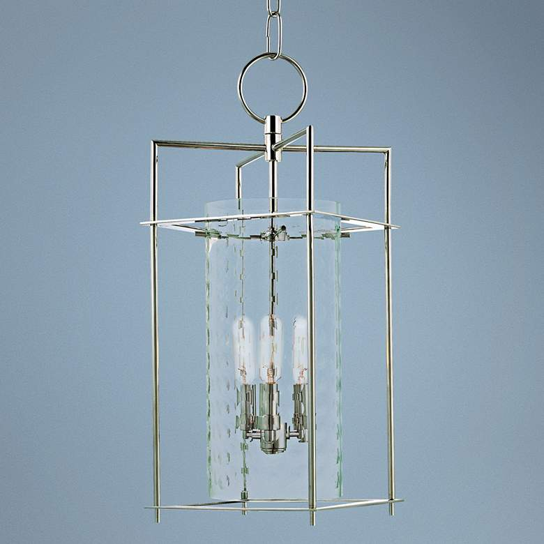 "Hudson Valley Esopus 8 1/2"" Wide Nickel Pendant Light"