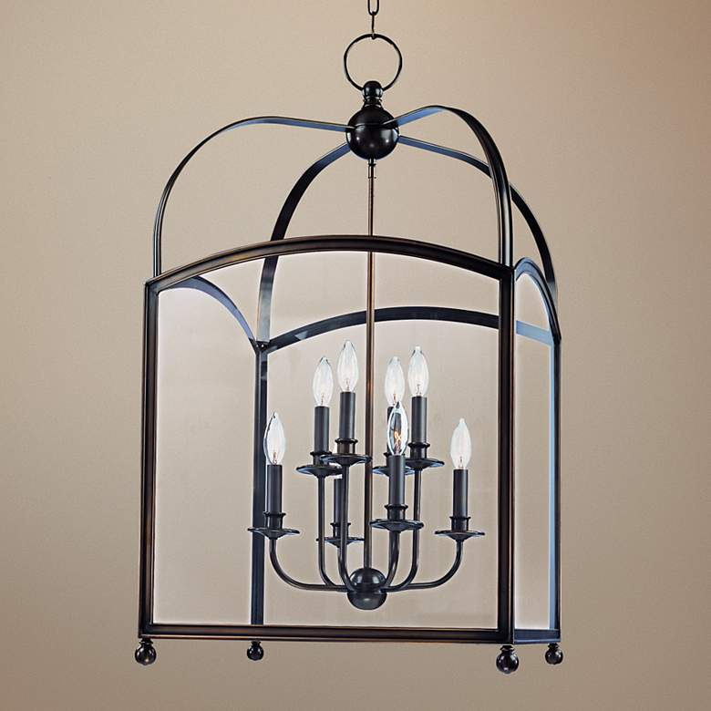 "Hudson Valley Millbrook 20"" Wide Bronze Pendant Light"