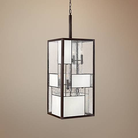 "Hinkley Mondrian 12-Light 42"" High Bronze Pendant Light"
