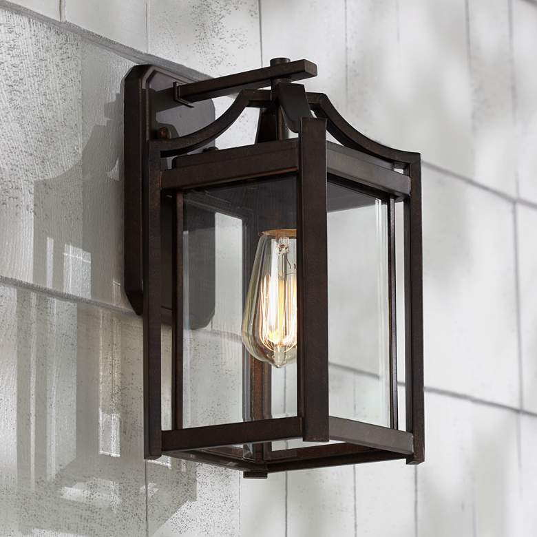 Rockford Collection 12 1 2 High Bronze Outdoor Wall Light