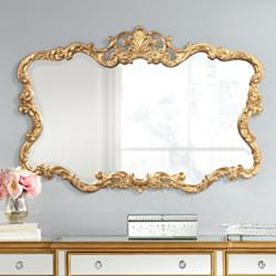 "Howard Elliott Collection 38"" x 27"" Talida Wall Mirror"