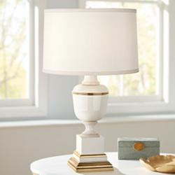 Mary McDonald Annika Ivory and Cloud Cream Accent Lamp