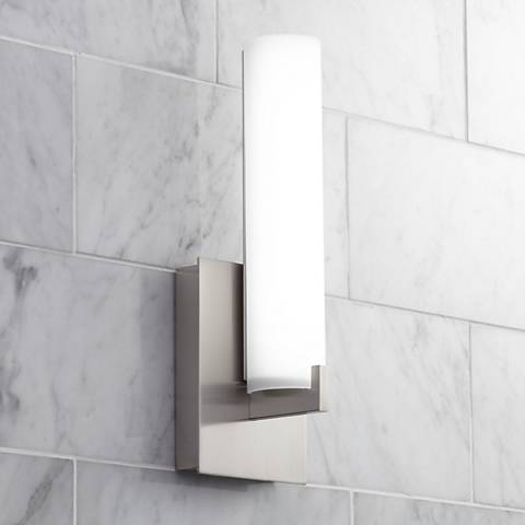 "George Kovacs 13 1/4"" High ADA Nickel LED Wall Sconce"