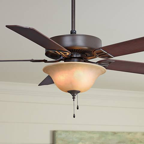 "52"" Fanimation Aire Decor Bronze Ceiling Fan"