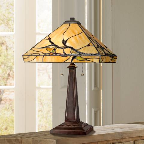 Budding Branch Robert Louis Tiffany Table Lamp W2363