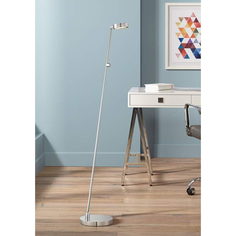 George Kovacs Chrome LED Floor Lamp