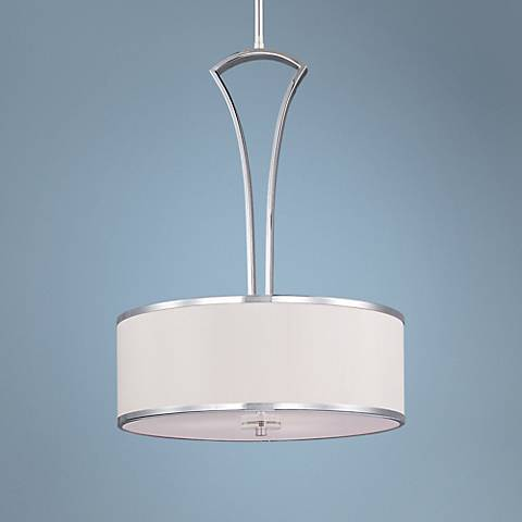 "Maxim Metro 15 3/4"" Wide 4-Light Chrome Pendant Light"
