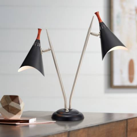 Draper Mid-Century Modern Desk Lamp - #W4850 | Lamps Plus
