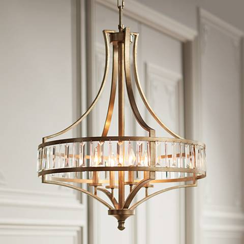 chandelier elk ceiling hemispheres lighting light polished product chandeliers photo nickel inch