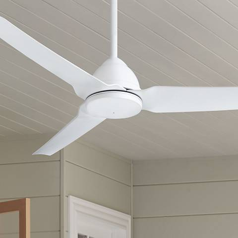 54 Minka Aire Java Flat White Indoor Outdoor Ceiling Fan