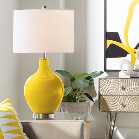 Citrus Ovo Table Lamp
