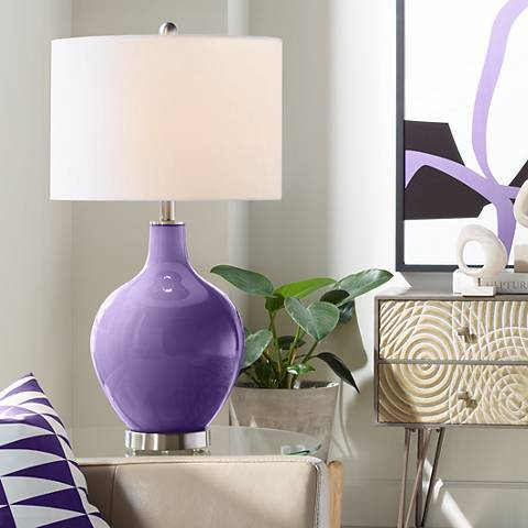 Izmir Purple Ovo Table Lamp